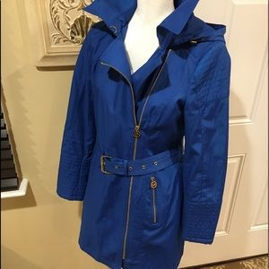 NWOT MICHAEL KORS ZIP FRONT TRENCH COAT